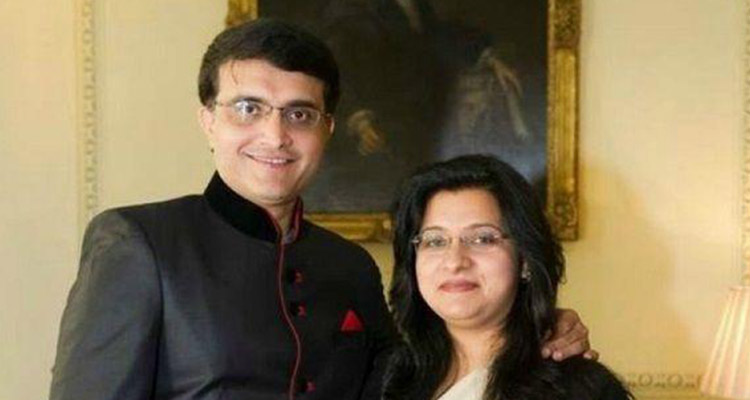 Sourav Ganguly and Dona Ganguly profession indian cricketers wives