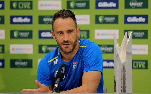 Faf du Plessis retirement