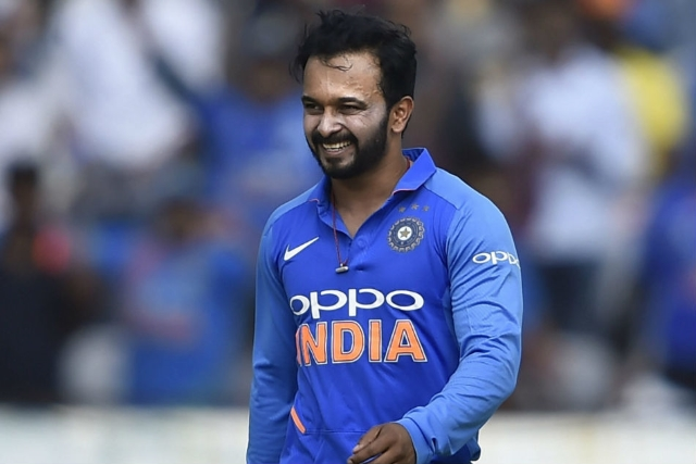 Kedar Jadhav Kedar Jadhav cryptic tweet Raina pulls out
