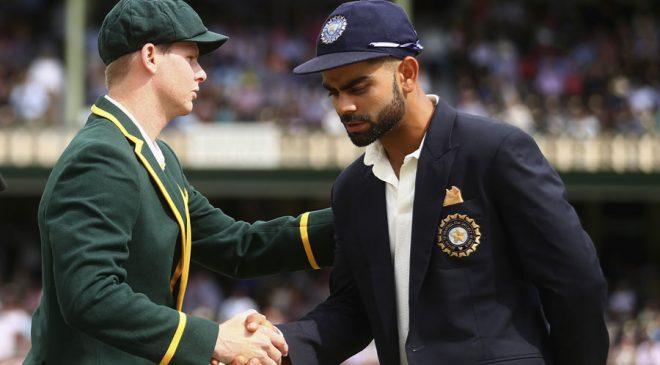 AB de Villiers Steve Smith (L) and Virat Kohli