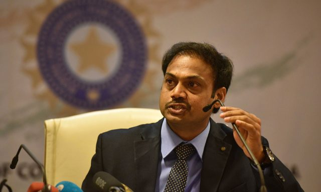 MSK Prasad on Melbourne Test