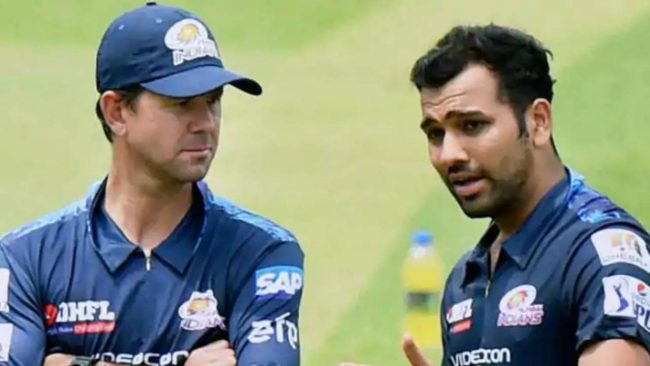 Rohit Sharma, Ricky Ponting, Indian Premier League