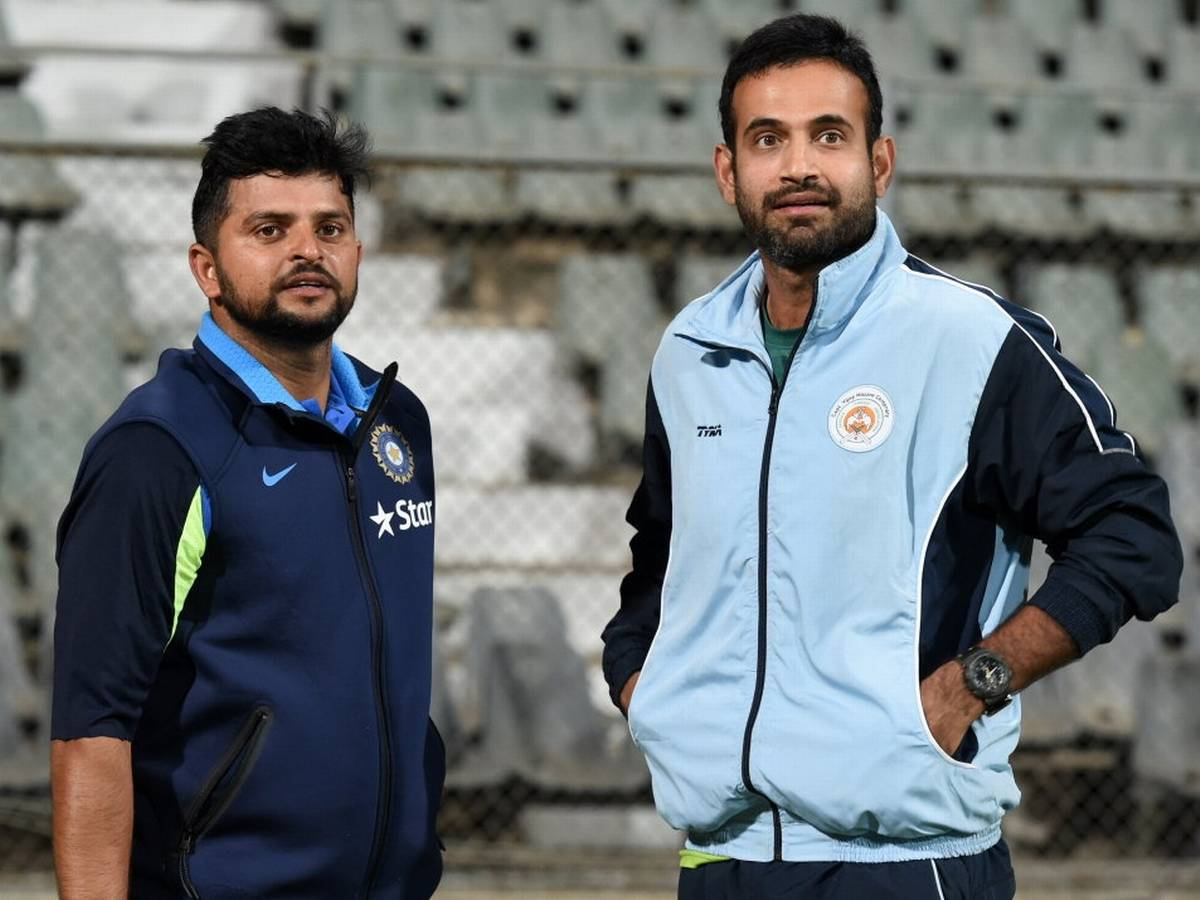 Irfan Pathan and Suresh Raina