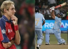 Yuvraj Singh Celebrates His Six Sixes; Stuart Broad Comes Up With A Hilarious Reply