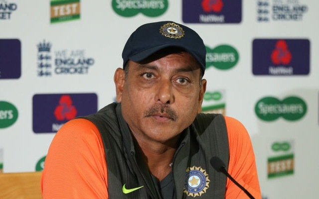 Ravi Shastri Team India Support Staff Reach Dubai Before Flying Down Under