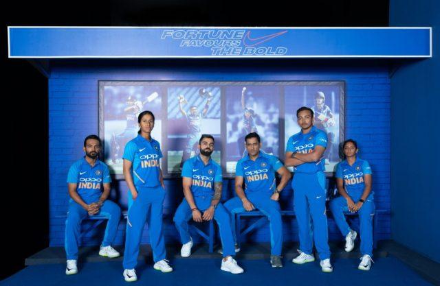 BCCI kit sponsor nike sponsorship
