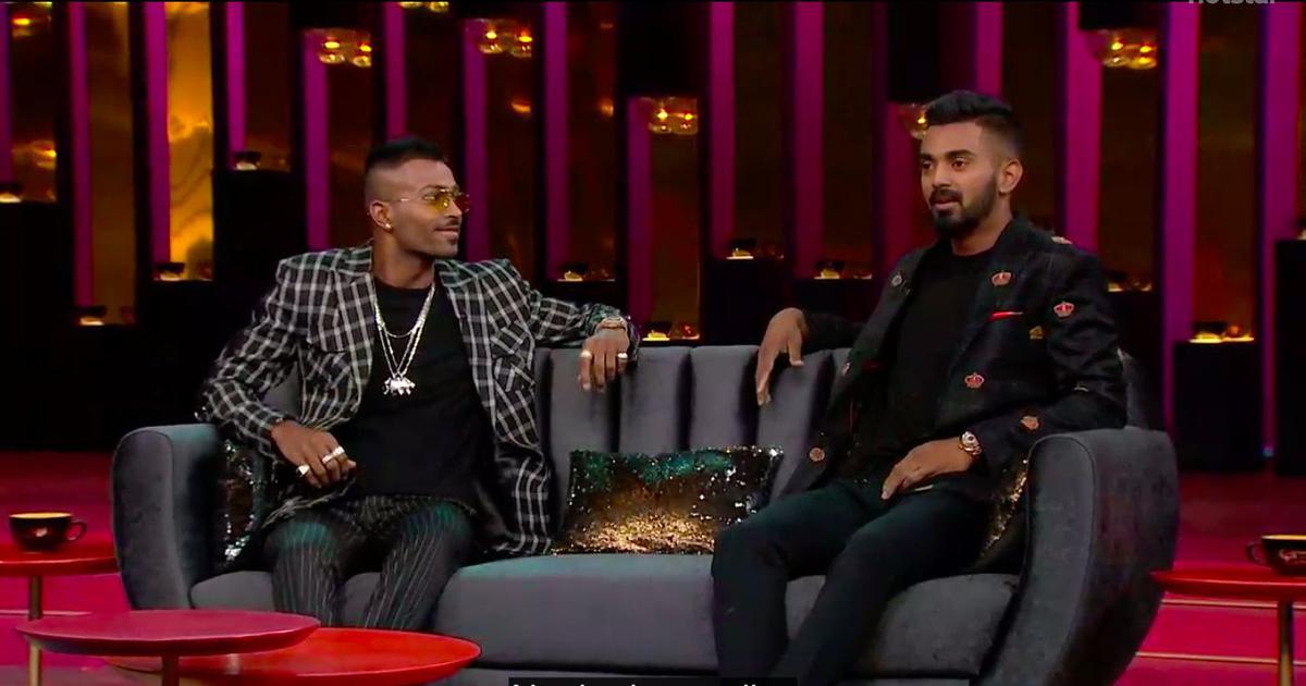 Hardik Pandya Koffee With Karan