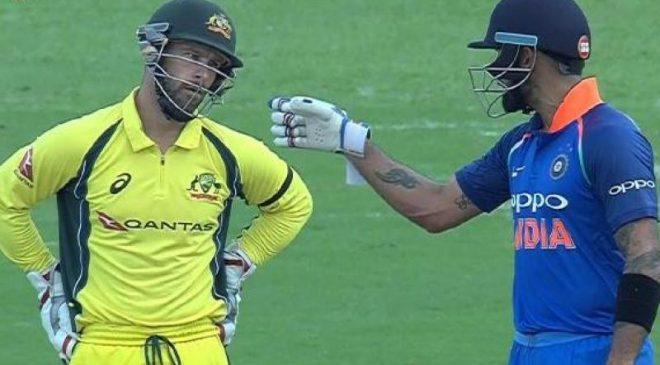 India vs Australia: Matthew Wade decides not to sledge clever Virat Kohli