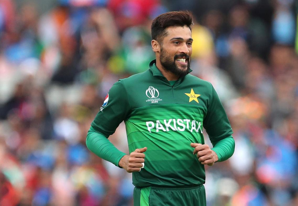 Amir join squad England