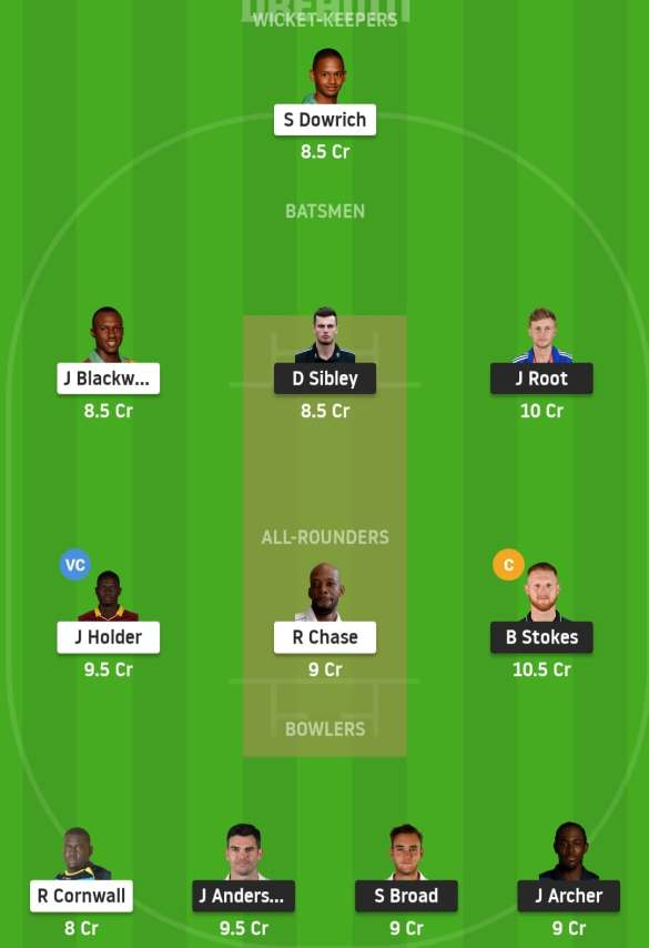 England vs West Indies Fantasy Tips