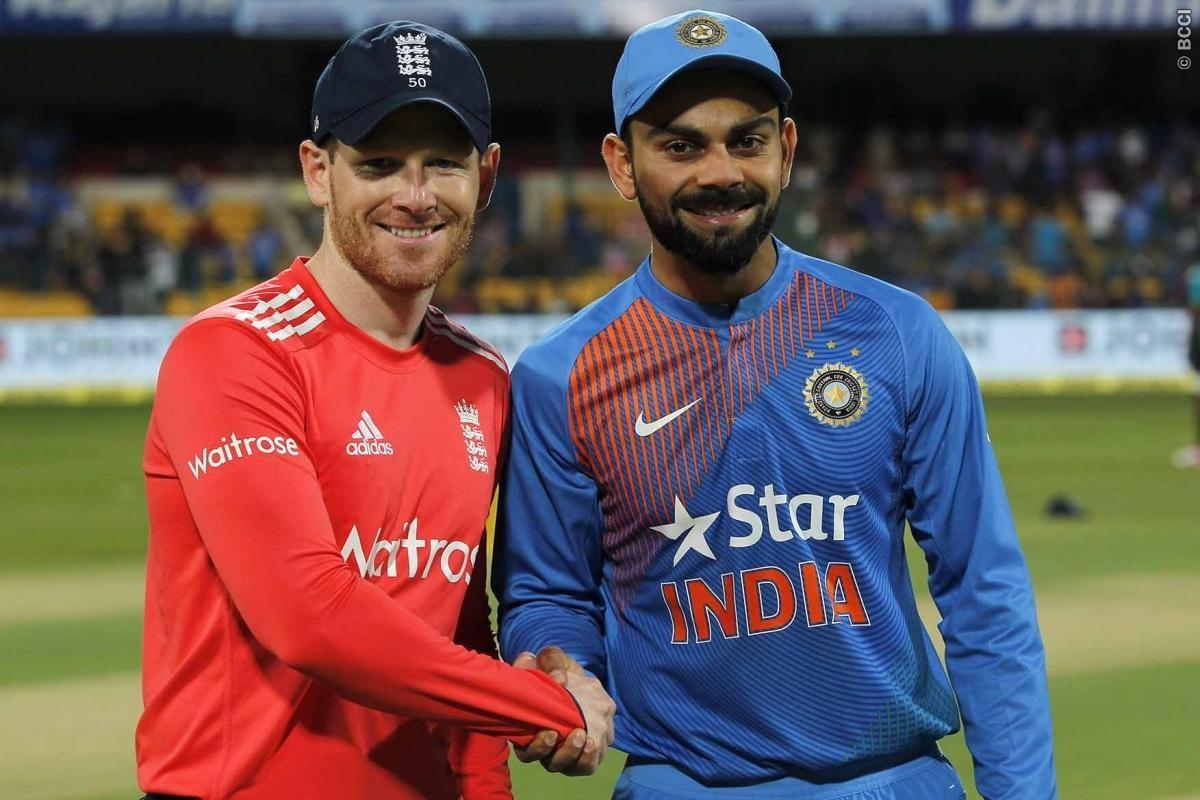 England-India series