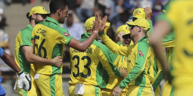 Australia Announce Squad For Limited Overs Series Against India