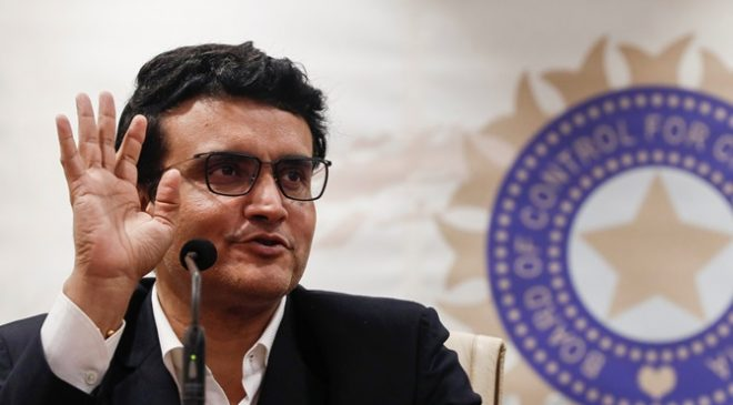 Sourav Ganguly 'Dadagiri' India to host England February 2021
