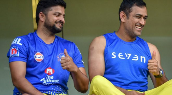 Suresh Raina MS Dhoni Chennai have 11 skippers Raina