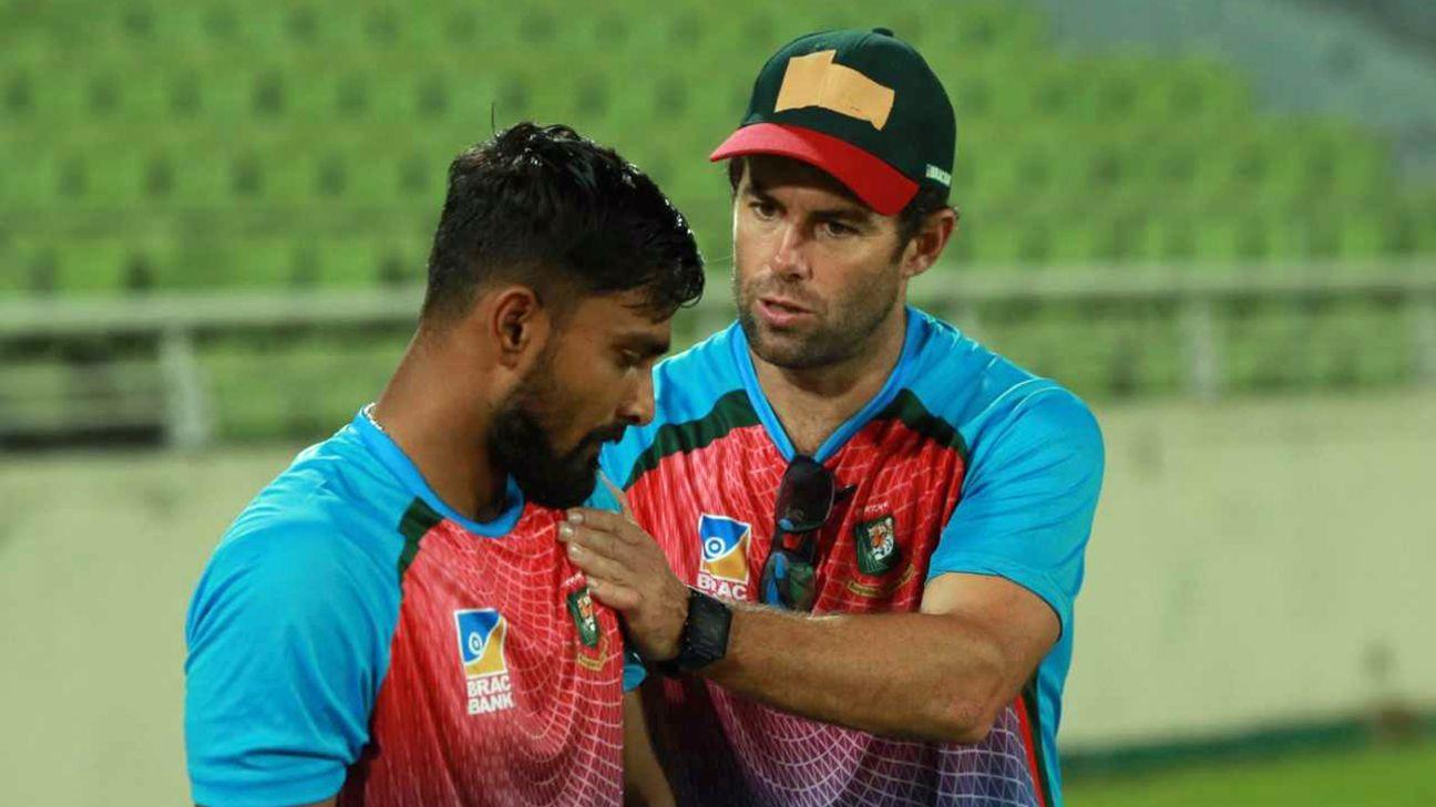 McKenzie Steps Down As Bangladesh's Batting Coach