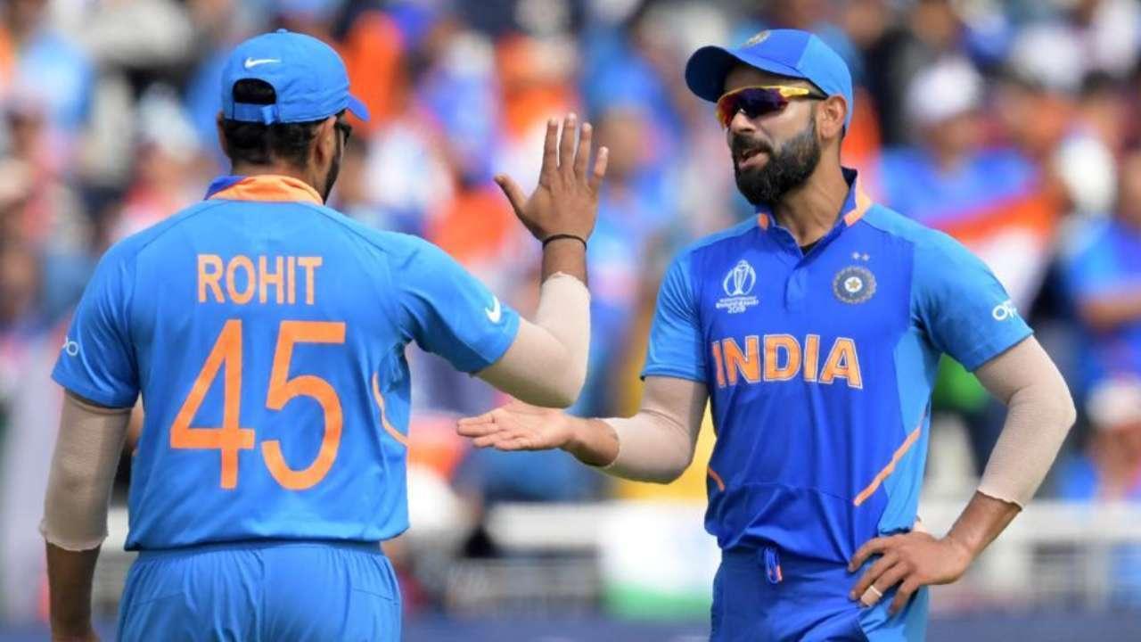 Virat Kohli Congratulates Rohit Sharma