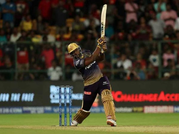 Watch - KKR Power-Hitter Andre Russell Breaks Camera Glass During Net Session