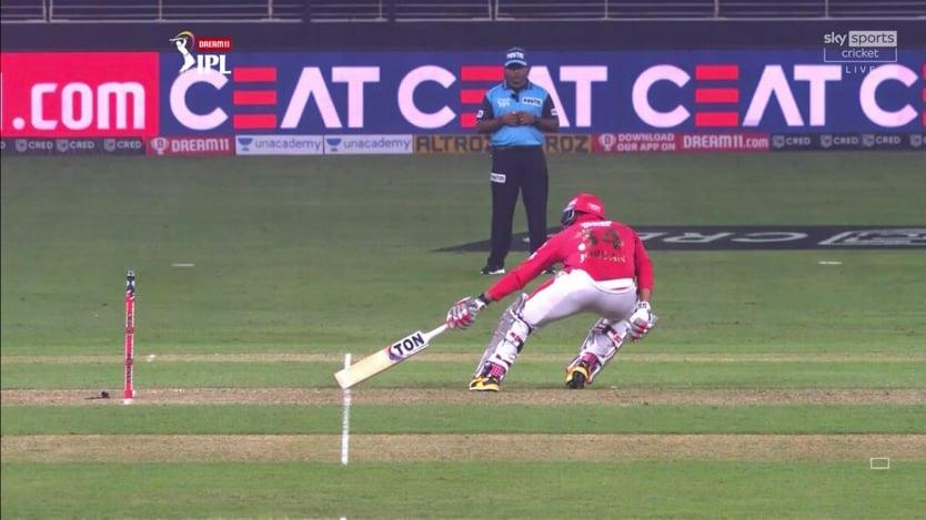 Umpire Faces Heat After He Signals A Short-Run In 19th Over Against KXIP