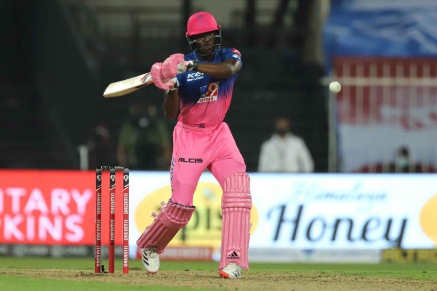 IPL 2020: Watch: Jofra Archer Smacks Four Sixes of Lungi Ngidi's 20th Over As RR Finish on 216/7