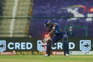 Hardik Pandya hit-wicket