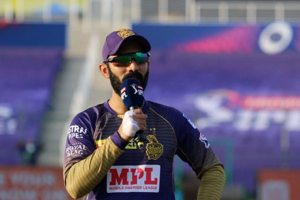 Eoin Morgan-Dinesh Karthik-IPL 2021-KKR
