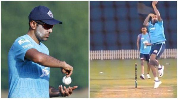 Ravichandran Ashwin Turns Leg Spinner In Delhi Capitals Nets