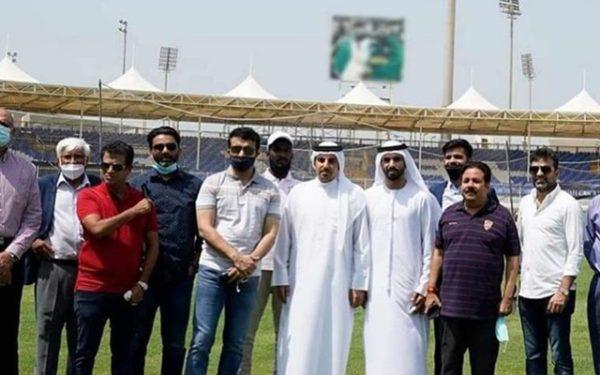 Ganguly blurs photo of Pakistani cricketers at Sharjah