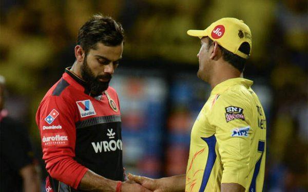 RCB vs CSK Gambhir difference Kohli Dhoni IPL news