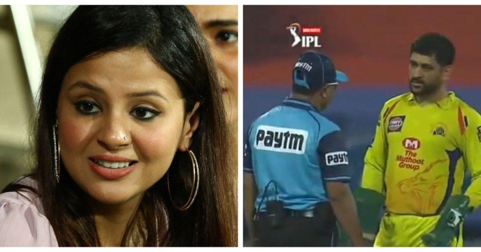 Sakshi Dhoni slams umpires