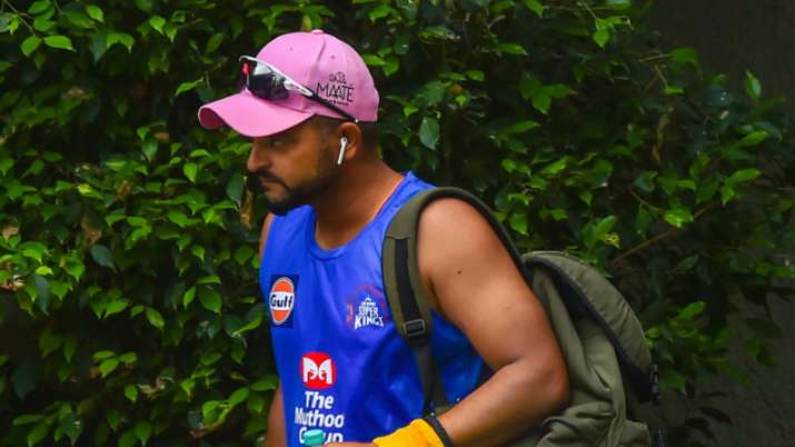 Suresh Raina earlier this week pulled out of the IPL due to personal reasons. Image Credits: Getty Images