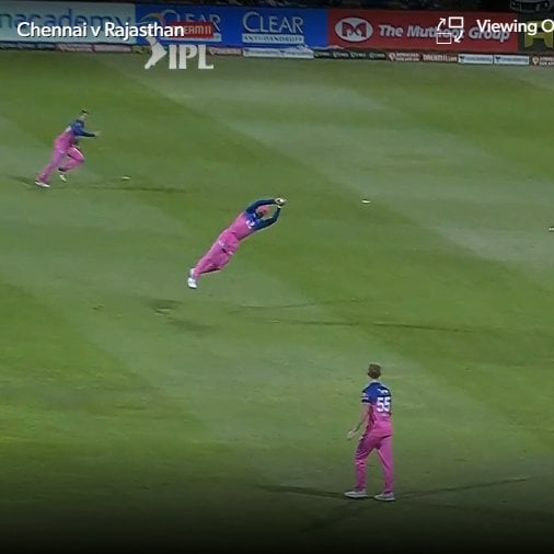 Watch - Jos Buttler Takes A Stunner To Dismiss Faf Du Plessis