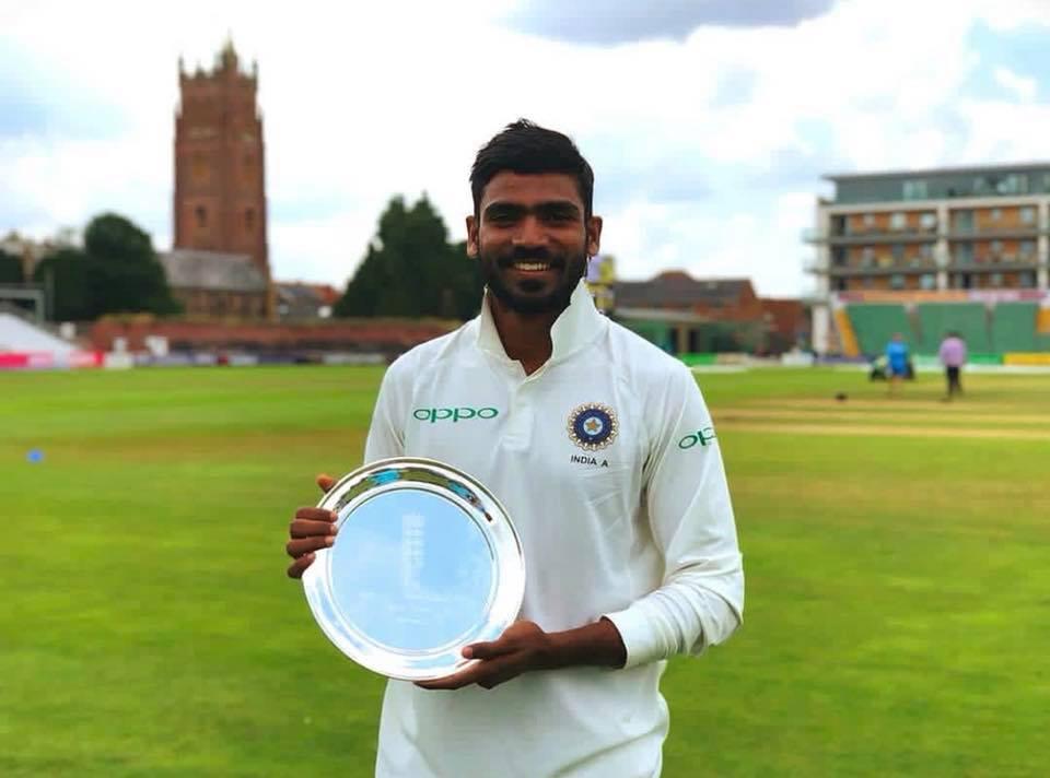 Srikar Bharat India Test