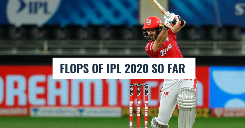 IPL 2020: Top 5 Flops Of The Season So Far