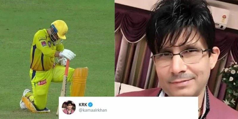 Kamaal R Khan Posts Disrespectful Tweet For MS Dhoni