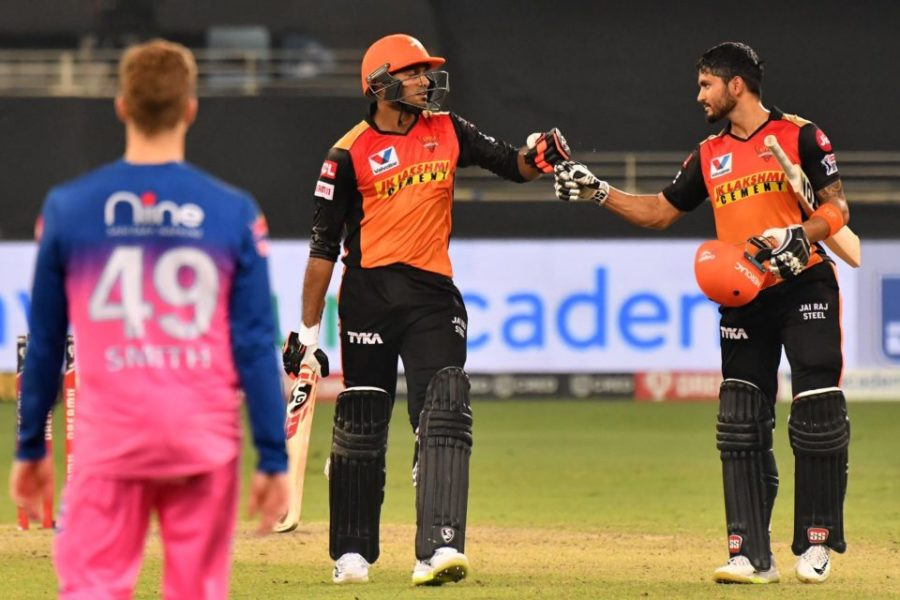 IPL 2020: Match 40-Sunrisers Hyderabad vs Rajasthan Royals-Match Report
