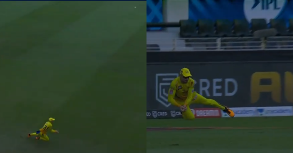 Watch - Faf du Plessis Grabs A Stunning Catch To Dismiss Virat Kohli
