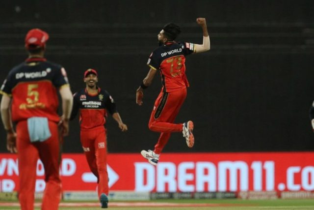 Watch - Mohammad Siraj Breaches Nitish Rana's Defense With A Perfect Delivery