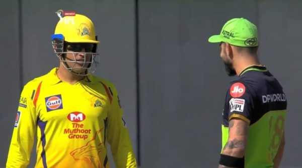 IPL 2020: Watch - Virat Kohli Has A Friendly Chat With MS Dhoni While Batting