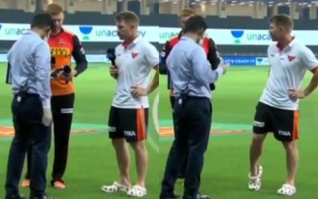 David Warner Embarrassingly Farts During Interview, Records It On Mic