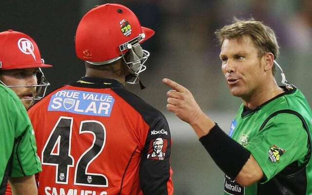 'Get Help Son' - Shane Warne To Marlon Samuels On Remarks Over Ben Stokes' Wife