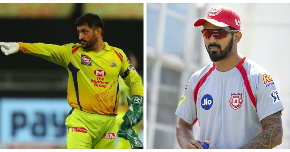 Chennai Super Kings MS Dhoni KL Rahul Kings XI Punjab
