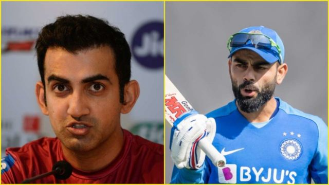 Gautam Gambhir Blasts Virat Kohli After India's ODI Series Loss To Australia