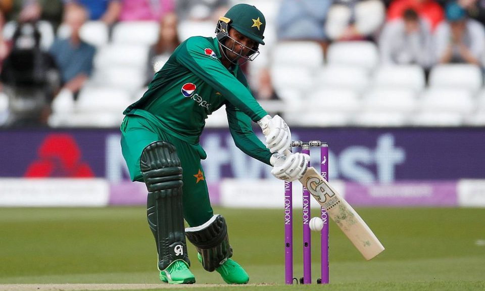 Fakhar Zaman ruled out