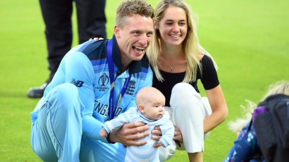 Watch - Jos Buttler's 18-Month-Old Daughter Georgia Interrupts His Online Interview