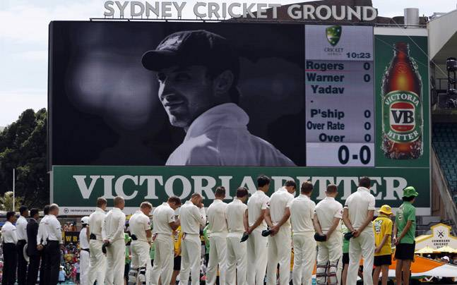 India-Australia Players To Pay Tribute To Phil Hughes In First ODI