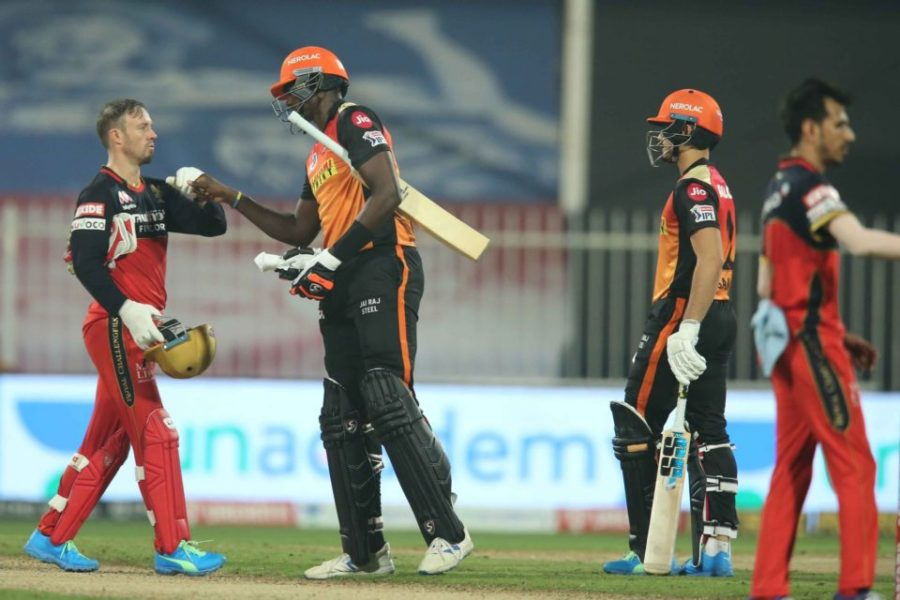 IPL 2020: Match 52-Sunrisers Hyderabad vs Royal Challengers Bangalore-Match Report