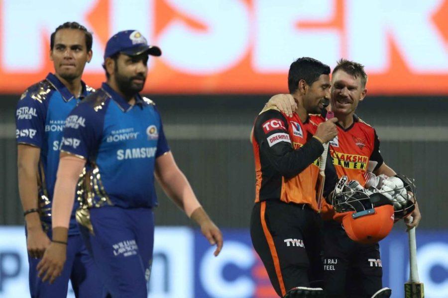 Sunrisers Hyderabad vs Mumbai Indians-Match Report