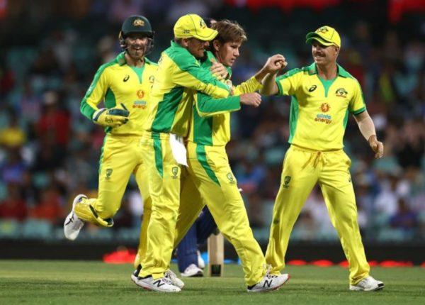Aaron Finch Australia India