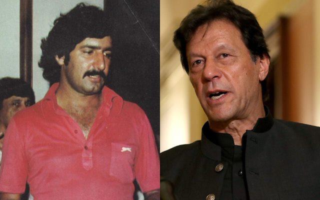 Imran Khan Sarfaraz Nawaz Pakistan