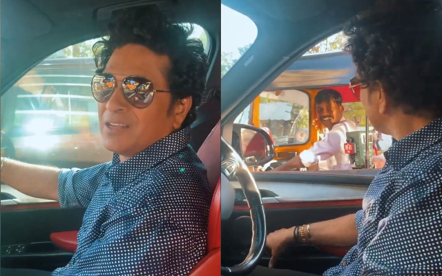When An Auto-Rickshaw Driver Helped Sachin Tendulkar To Find The Route To His House In Mumbai